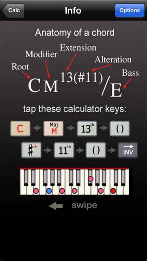calculator music app shopper fastchords piano chords calculator music