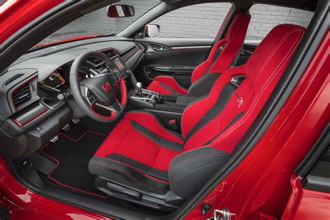 honda civic 2017 type r interior 2017 honda civic type r first test review world s