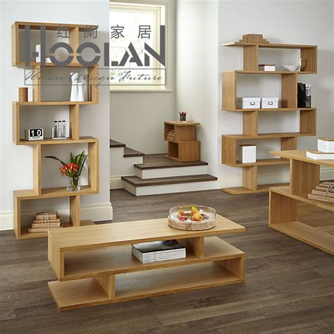Oak Livingroom Furniture by Mesas De Madera Y Hierro Modernas