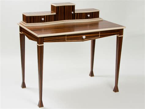 deco style writing desk deco writing desk artisan crafted home
