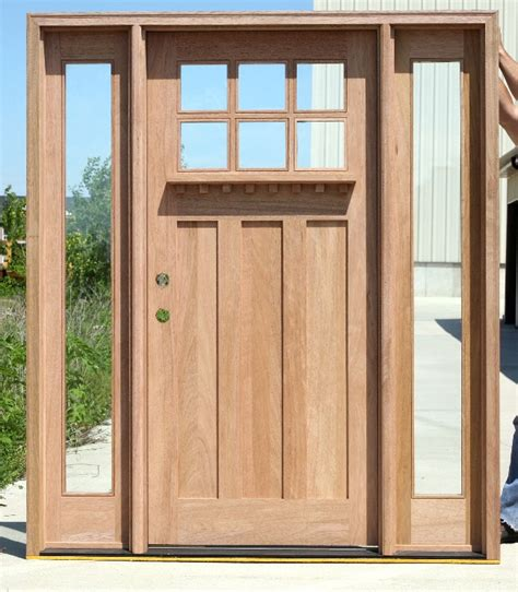 Craftsman Exterior Doors Craftsman Doors And Sidelights On Clearance Sale