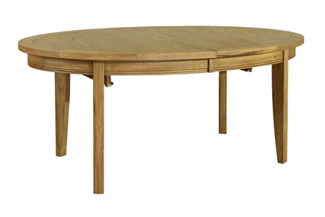 Linden Solid Oak Dining Room Furniture Oval Extending Solid Oak Dining Room Furniture
