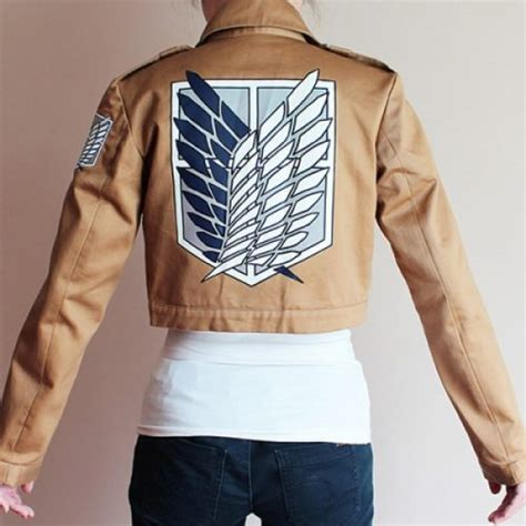 Sweater Jaket Attack On Titan Snk Sporty All Edition attac on titan recon corps jacket kyobta kawai