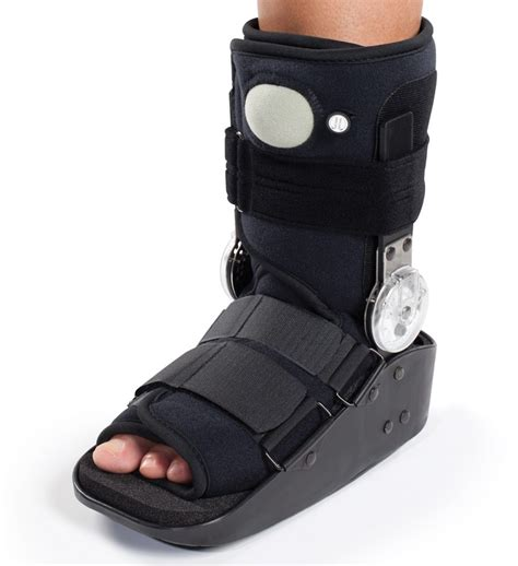 walking boot for broken foot donjoy maxtrax rom air ankle walker boot walking brace