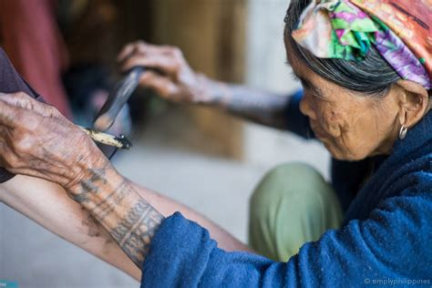 how to tell if tattoo is infected spotlight kalinga artist whang od how can you tell