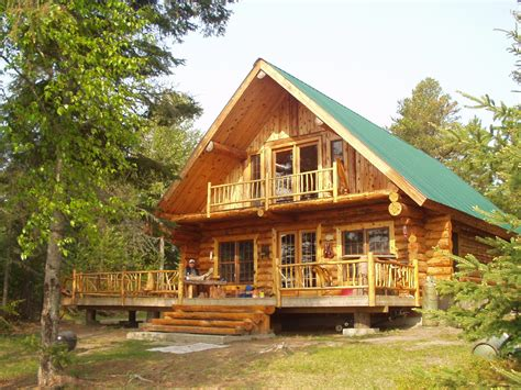 log cabin homes to build