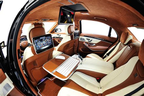 Mercedes Brabus Interior by Brabus Mercedes S63 Amg 2014