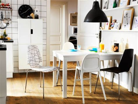 gambar desain ruang makan minimalis mungil ukuran kecil