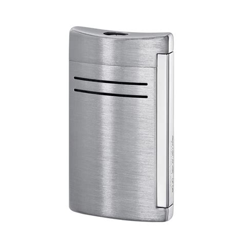 St Dupont Lighter st dupont maxijet lighter brushed