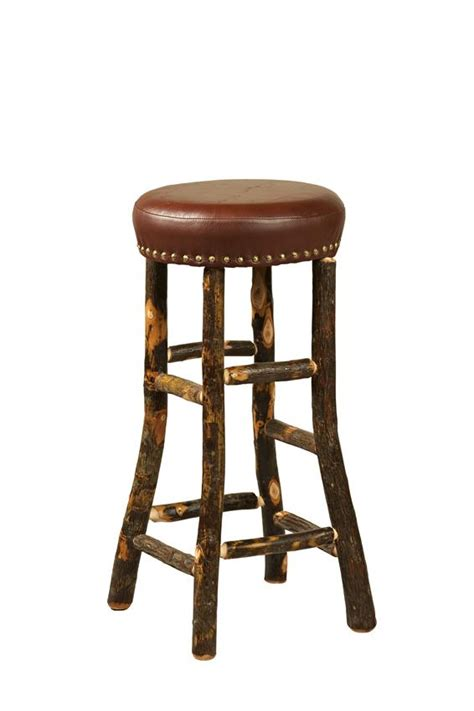 hickory bar stools amish hoosier hickory bar stool