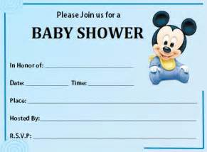 baby shower invitations boy template best template collection