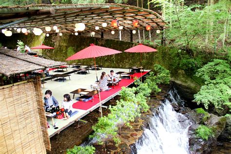 kyoto cities sights other places you need to visit tokyo yokohama osaka nagoya kyoto kawasaki saitama volume 5 books dine atop a waterfall at these kawadoko places