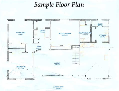 make a floor plan of your house draw your own house plans free for how to design your own