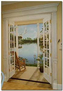 Painted L by Trompe L Oeil Celebration Florida Mural Painted By