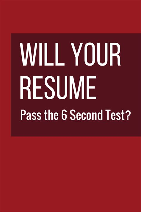 Resume 7 Seconds by Hr Pros Scan Resumes In 6 Seconds Before Deciding To Keep
