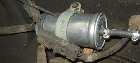 common fuel filter problems doityourselfcom