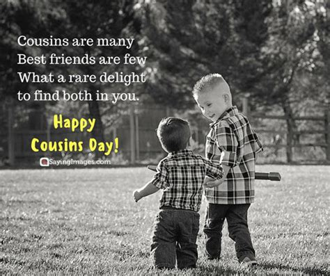 happy cousins day quotes    pictures