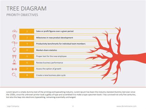 tree diagram flat by slideshop graphicriver