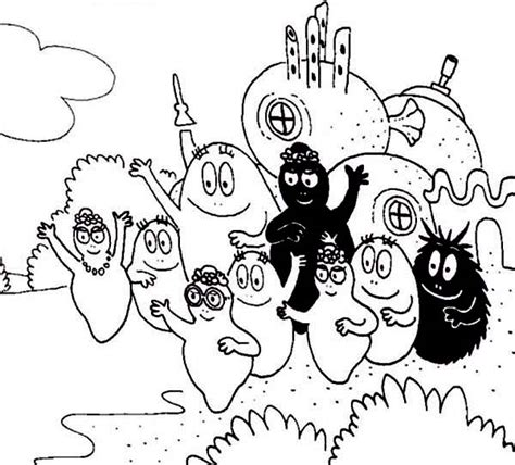 barbapapa activities coloring pages batch coloring