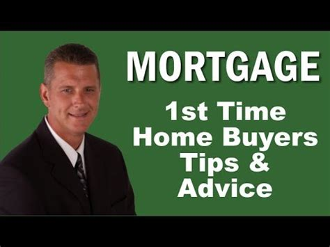 time home buyers tips mortgage loan process mortgage