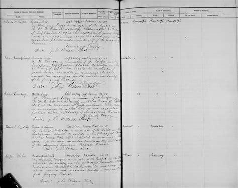 Elkton Md Marriage Records William Vanscoy Marriages Children
