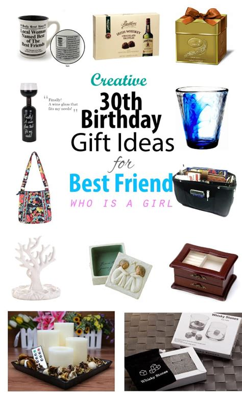 best gift ideas creative 30th birthday gift ideas for female best friend