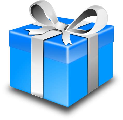 Mystery Box 1 blue gift clip at clker vector clip royalty free domain