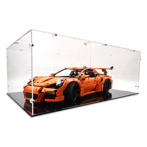 lego porsche 911 gt3 rs lego 42056 porsche 911 gt3 rs display display cases