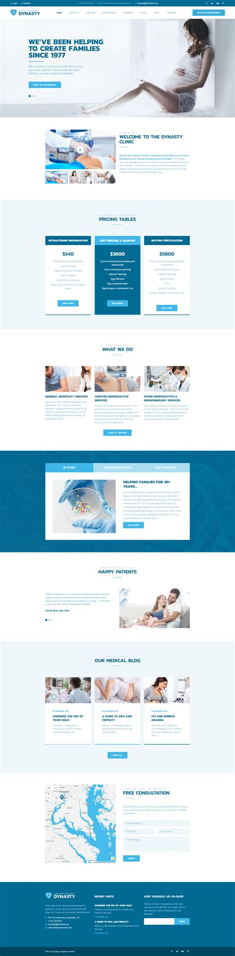 reproduction clinic templates archives zemez wordpress
