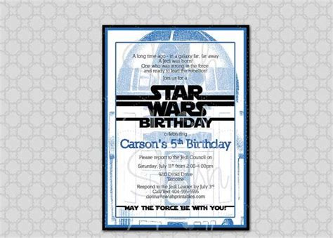 printable star wars invitations 51 best images about star wars party on pinterest yoda