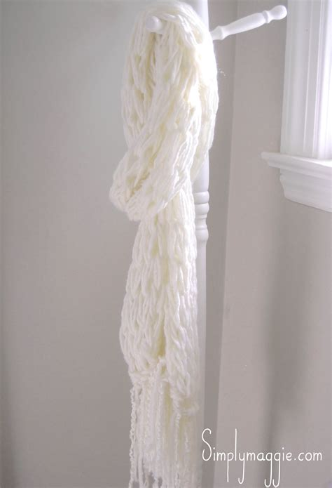 arm knit arm knit a fringe scarf copy simplymaggie