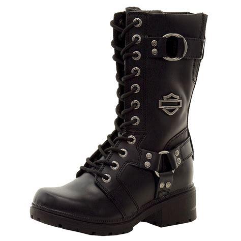 Who Makes Harley Davidson Boots by Harley Davidson S Eda D83736 Fashion Black Boots