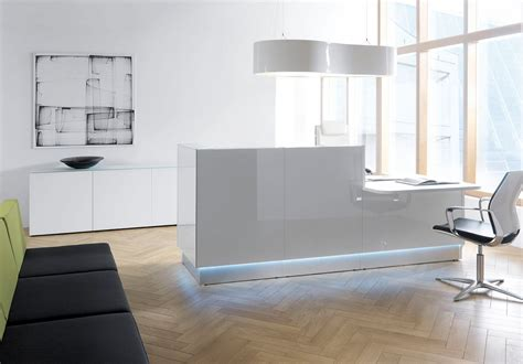Modern Office Desk Designs The Gallery For Gt Modern Office Reception Design