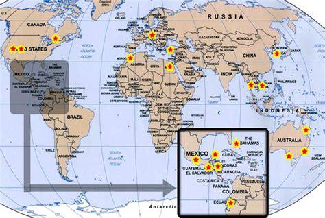 guatemala on world map guatemala world map