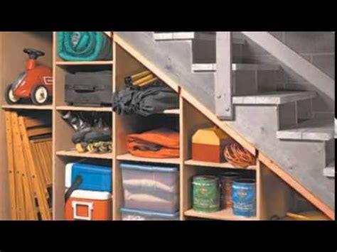 Kitchen Cabinets Decor by 5 Basement Under Stairs Storage Ideas Youtube