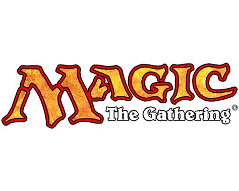 Magic The Gathering Card Template Png by Mtg Logo 700 215 560 Omg