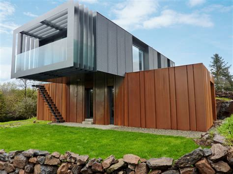 grand designs shipping container home  patrick bradley