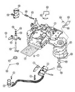 Chrysler Transmission Parts Valve 48re Dg8