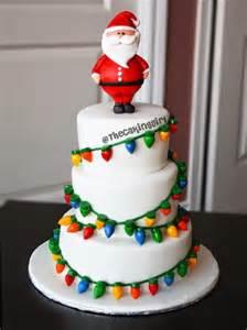 thecakinggirl fondant christmas light cake tutorial