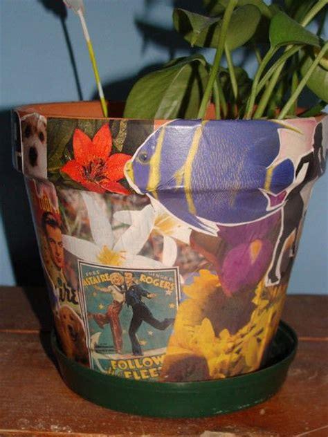 decoupage pots decoupage flower pot 183 a decoupage pot 183 decoupage on cut