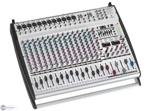 Power Mixer Behringer Pmx europower pmh5000 behringer europower pmh5000 audiofanzine