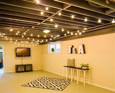 20 Budget Friendly But Super Cool Basement Ideas   Exposed