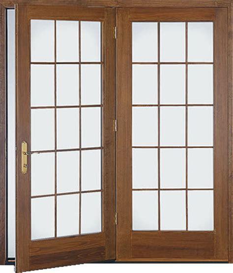 Hinged Patio Doors The Siding Company St Louis Hinged Patio Door