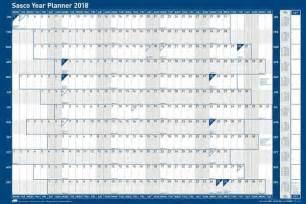 Calendar 2018 Year Planner Year Planners 2018 By Sasco Planners Wall Mounted Year