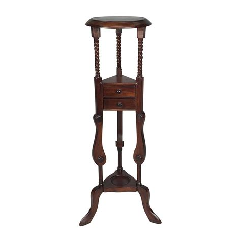 Ebay Dining Room Chairs by Solid Mahogany Wood Twist Plant Stand With Drawers