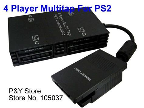 Sony Multitap Playstation 2 sell free shipping new 4 player multitap for sony playstation 2 ps2 slim jpg