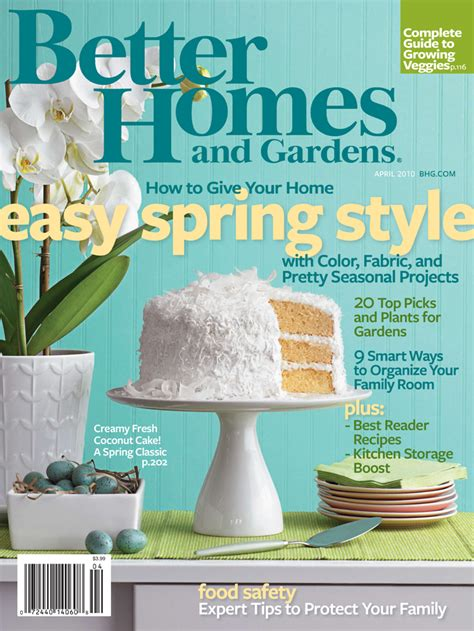 better homes and gardens magazine address change