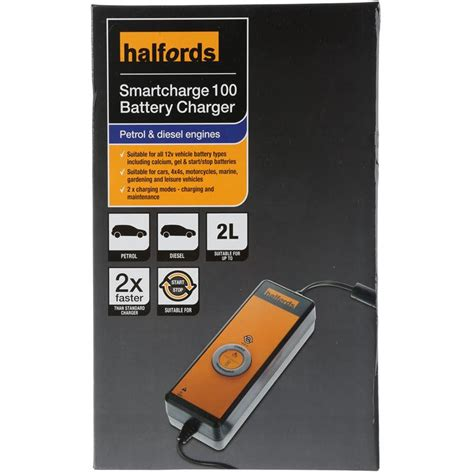battery charger halfords halfords smart battery charger 100 4 petrol diesel 2l