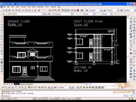 Residential Floor Plans And Elevations what is building elevations autocad in urdu tutorials www