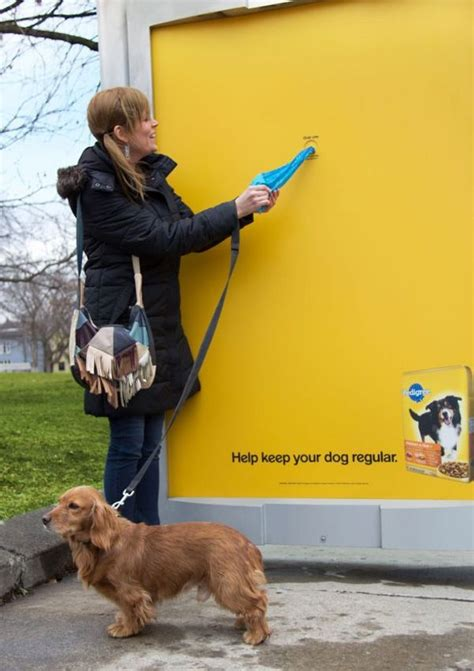 my dog keeps going to the bathroom in the house i love this ad if i saw this at a dog park i would definitely get a bag because my